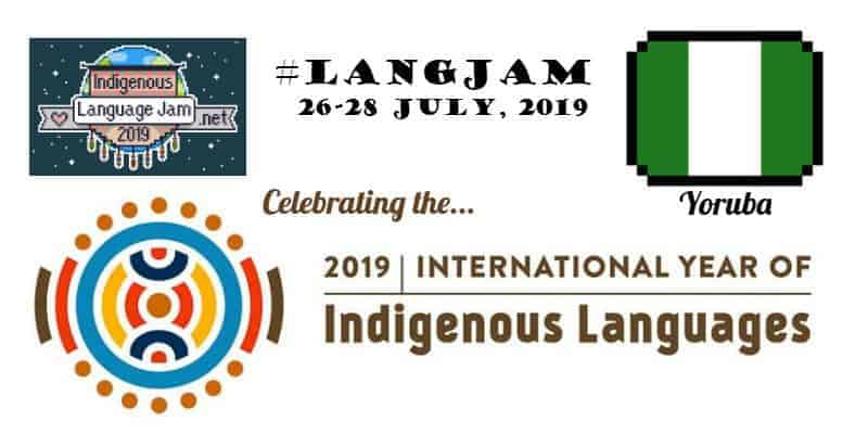 Language Jam July 2019, Celebrating the International Year of Indigenous Languages
