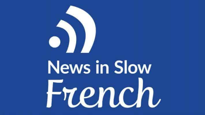 News In Slow French Logo